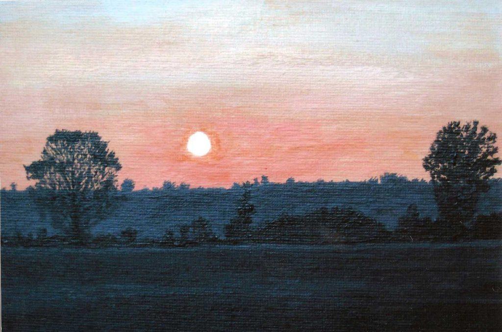 Cynthia Dale Art Sunset Lg