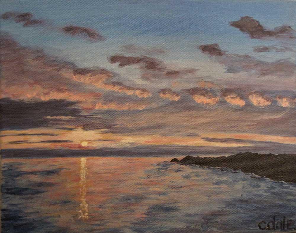 Cynthia Dale Art Sunset1 Lg