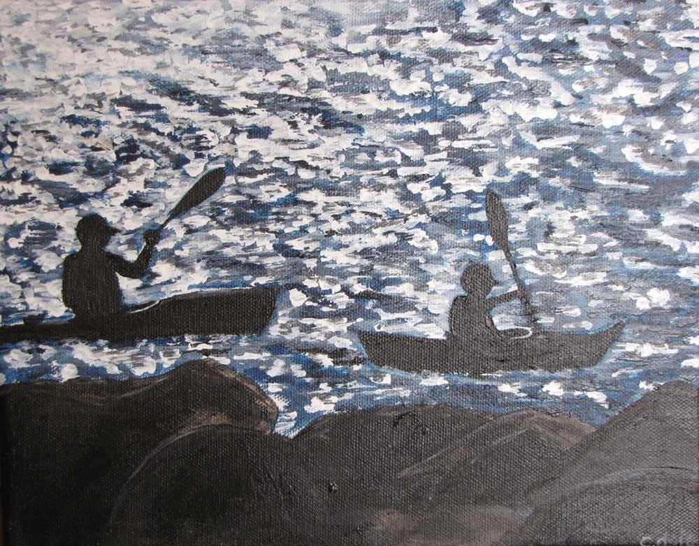 Cynthia Dale Kayakers Lg