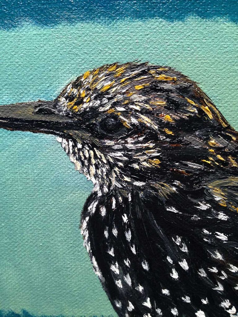 Cynthia Dale Painting Bird
