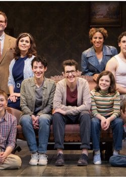Cynthia Dale and cast of Fun Home